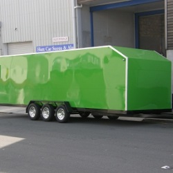 Triple Axel Covered Trailer